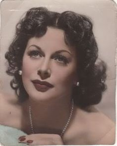 Hedy Lamarr tint
