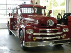 SEAGRAVE Coupe  FIRE ENGINE
