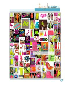 """""""Day-Glo"""" (neon) 6th of 12 #colorTrend for 2012 #fadNOTtrend"""