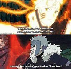 Haha Tobirama is the creator of any ninjutsu, Naruto ❤️❤️❤️