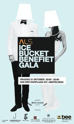 bee | ALS 'ice bucket benefiet gala' on Behance