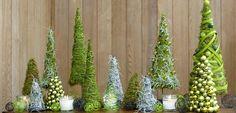 Groen kerstbos