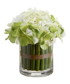 Take a look at this Hydrangea Bouquet Arrangement by Allstate Floral & Craft on #zulily today!
