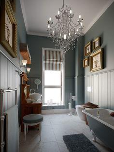 Retro Victorian Bathroom - traditional - bathroom - other metro - by Bathroom By Design