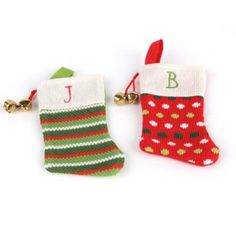 Monogrammed Stocking Ornament | Kirkland's-how cute are these