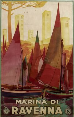TV66 Vintage 1950/'s A3 Ventimiglia Italy Italian Travel Poster Reprint