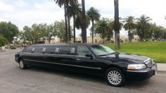 Limo: 2005 Black 140-inch Lincoln Towncar Limousine for sale #1265