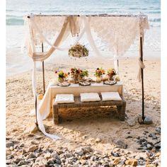 Beautiful Noosa Beach Wedding set up Lakeside Garden, Wedding Set Up, Getting Married, Most Beautiful, Scenery, Table Decorations, Beach, Instagram, Landscape