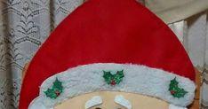 Hermosos muñecos navideños elaborados en paño lency estampado y cosidos a mano. Se adaptan a cualquier tipo de silla.  Medidas :  1. Noel... Tree Skirts, Christmas Tree, Holiday Decor, Home Decor, Slipcovers For Chairs, Holiday Decorating, Scrappy Quilts, Embellishments, Crafts