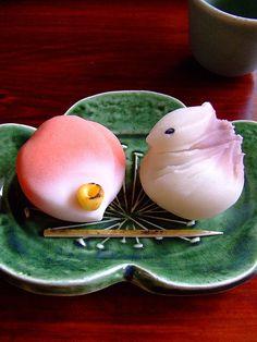 Wagashi golosina tradicional japonesa