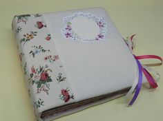 Baby girl photo album, baby photo album, photo book,first year scrapbook album,memory book, memory album,handmade scrapbook album,photo book