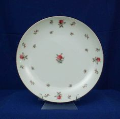 Meito Japan Pattern Rosechintz White Dinner Plate bfe1987 #Meito