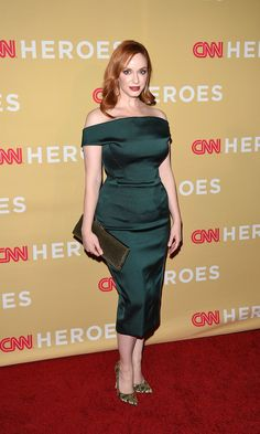 Vote! Who Was the Best Dressed Celebrity of the Week? // Christina Hendricks
