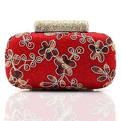 Metal Wedding/Special Occasion Clutches/Evening Handbags with Rhinestones/Embroidery (More Colors)