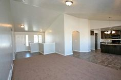 The Entryway and Family Room