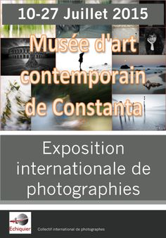 """Check out a group exhibition in Romania, from 10 to 27.07, at the Constanta contemporary art museum, one of three exhibitions in 2015 organized by Echiquier - the International Collective of Photographers. My portfolio in this Echiquier:  Click a below URL""""Home page""""→Japan→Osamu Jinguji http://galeryechiquier.echiquier-online.fr"""