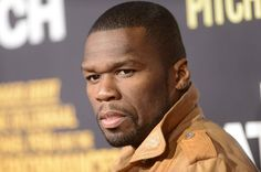 50 Cent at event of End of Watch-- Curtis was good in this movie!