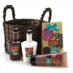 Exotic Fusion Bath Basket Lotion Health Beauty « Holiday Adds