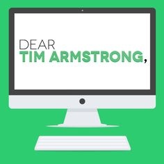 Dear Tim Armstrong is a viral campaign and partnership offer for AOL's CEO TIm Armstrong and the Patch Organization.   http://whyunation.com