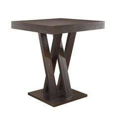 Coaster Company Cappuccino Counter Height Table - Free Shipping Today - Overstock.com - 19818762 - Mobile