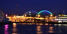 Seattle Waterfront looking toward the Clink