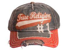True Religion Script Baseball Cap..