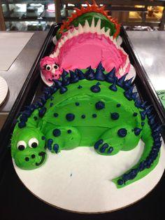 Dino cakes!
