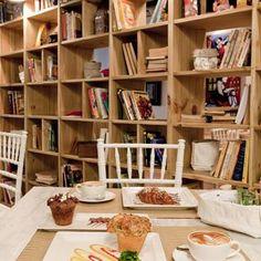 Café com livros de Priscila Koch - Viva Decora