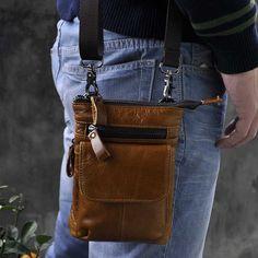 2016 New Shoulder Bags Luxury Brand Fashion Men Casual Genuine Leather Men Bag Messenger