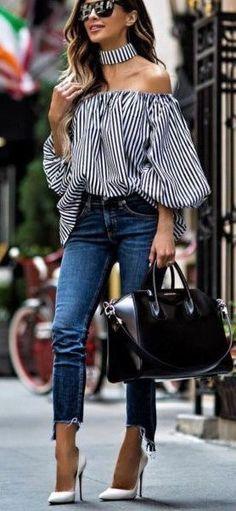 New Ideas Fashion Design Inspiration Dresses Spring Summer Fashion Blogger Style, Look Fashion, Trendy Fashion, Fashion Outfits, Jeans Fashion, Fashion Heels, Fashion Bloggers, Latest Fashion, Mode Chic