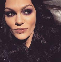 Jessie J's makeup look for the voice Australia live show 3 J Makeup, Makeup Looks, Jessi J, Septum Ring, Purple, Lady, How To Make, Jewelry, Smokey Eye