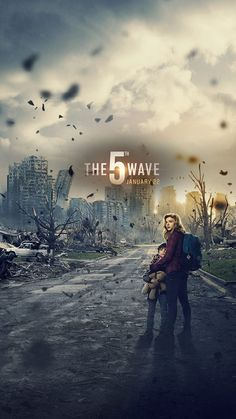 The Wave Times - Movie Tickets + Showtimes The 5th Wave Movie, The Fifth Wave Book, The 5th Wave Series, Old Movies, Great Movies, Poster Minimalista, The Last Star, Movie Wallpapers, Phone Wallpapers