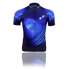 3e2f8485df9 Baleaf Mens Cycling Short Sleeve Jersey Blue Earth Style XL     Find out  more about the great product at the image link.