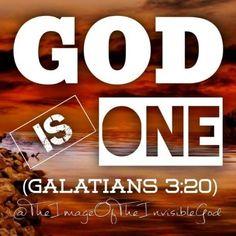https://thefountainoflivingwaters.wordpress.com/2017/01/22/god-is-one/
