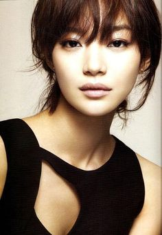 "Shin Min-A - She is sooo pretty!!! See her in ""My Girlfriend is a Nine Tail Fox"" - cute drama!"