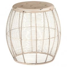 This is a brilliant Cream Barrel Artisan Stool which is sure to impress. It'd look fantastic in any home because of its gorgeous, simplistic design which will be certain to impress. Contemporary Lounge, Contemporary Furniture, Ceramic Stool, Overstuffed Chairs, Industrial Dining Chairs, Bohemian Furniture, Upholstered Stool, Storage Stool, Round Stool