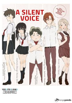 """""""A Silent Voice is a beautiful manga. The story is fantastic and realistic and all the characters deal with their own struggles which I like seeing. This manga deserves more recognition. I Love Anime, Me Me Me Anime, Death Note, Koe No Katachi Anime, A Silence Voice, Voices Movie, Anime Manga, Anime Art, A Silent Voice Anime"""