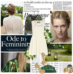 """Innocent and Green"" by coolitdown on Polyvore"