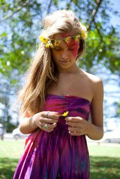 hippie love future bride maids dress