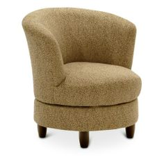 "Palmona Swivel Chair at HOM Furniture - her new reading chair (in ""Dove"" grey)"