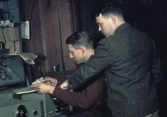 Bill Hewlett and Dave Packard. The founders of HP.