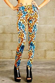 I used to wear stuff like this when I was skinny. Paired with a cute solid colored skirt these would be awesome.