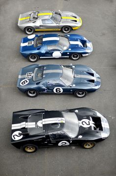 ford gt40 - mk ii + mk i + mk i + mk ii(?) versions - 1964-69