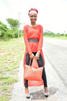 DIMPLEKHADI: HOW TO STYLE AN ASYMMETRIC DRESS