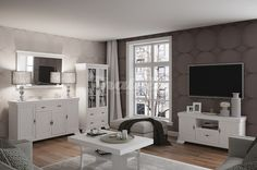 Paris Wohnzimmer Komplett Wohnzimmerset Sideboard Tv Mobel Wohnzimmer Komplett Set Sideboard Highboard Lowboard Re. Beautiful Color Combinations, Led, Living Room Grey, Double Vanity, House Plans, Entryway, Kitchen Cabinets, House Design, Curtains