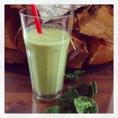 Grön vitaminkick med spenat