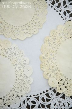 Tea Staining paper Doilies
