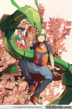 Rayquaza and Emerald
