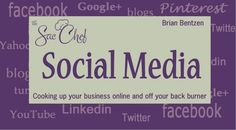 My social media pages are being managed by Brian Bentzen at Sacchef Social Media. Social Media Pages, Social Media Marketing, Enrolled Agent, Bob, Fitness Gifts, Practical Gifts, Food Videos, Online Business, Something To Do