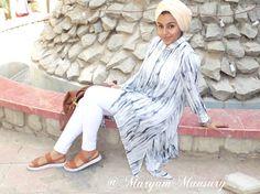 #hijabfashion2016 #modestfashion #outfitideas #allwhiteoutfits #white